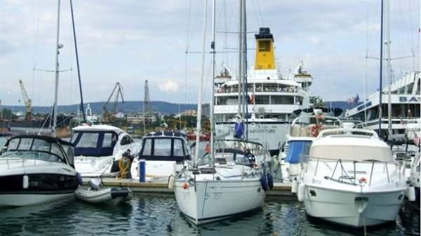 Прогулка на яхте по болгарскому Причерноморью