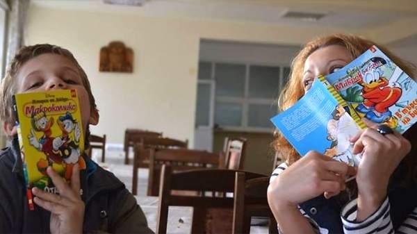 Добровольцы из фонда «Подарите книгу» помогают брошенным детям научиться читать