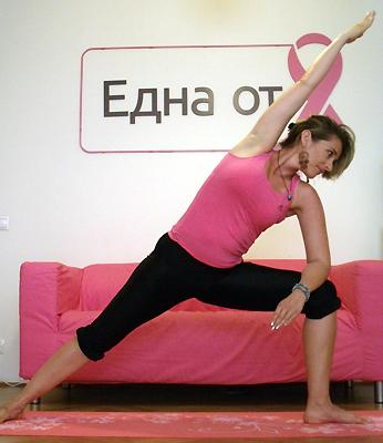 Диана Гунева с призывом к женщинам, больным раком груди: «Концентрируйтесь не на проблеме, а на ее решении!»
