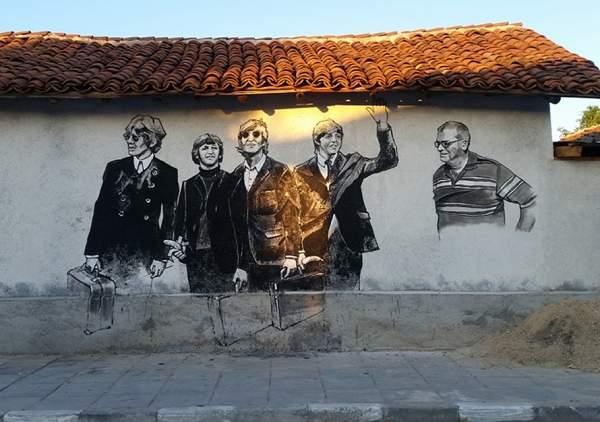Старо-Железаре – село с артистической «добавленной реальностью»