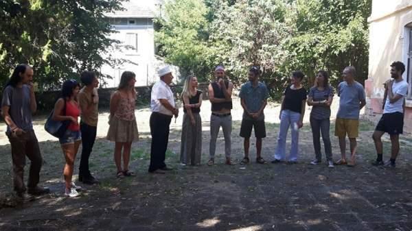 «Путь как ритуал» вдохновляет артистов из 8 стран творить в Арт резиденции «Старая школа» в селе Горна-Липница