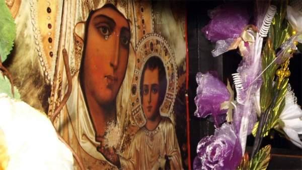 Пресвятая Богородица защищает от бед и природных стихий жителей села Овчарци