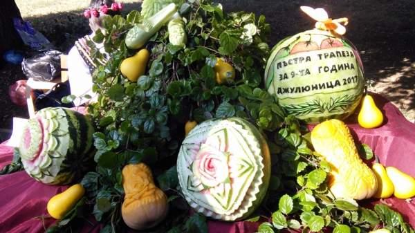 Золотую осень в селе Джулюница встречают праздником традиционных блюд