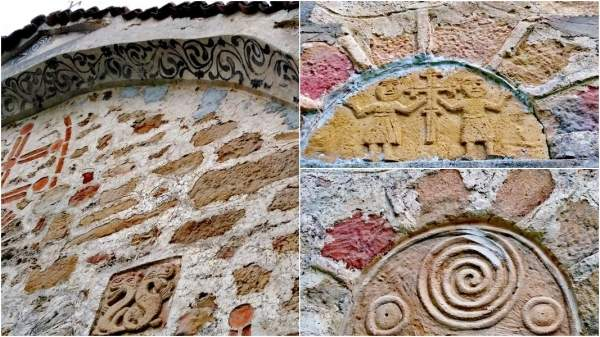 Древние знания закодированы на фасаде церкви в Праужде